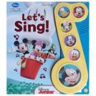 MICKEY MOUSE Let's Sing Book w/ Mickey and Friends