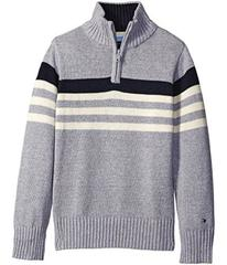 Tommy Hilfiger Peter 1/2 Zip Sweater (Toddler/Litt