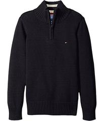 Tommy Hilfiger Edward 1/2 Zip with Rib Stitch Swea
