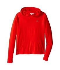 Lacoste Long Sleeve Jersey Hoodie Tee Shirt (Toddl