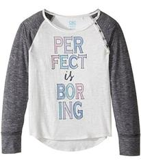 C&C California Kids Burnout Jersey Raglan with But