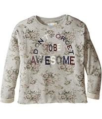 C&C California Kids Printed Fleece Cropped Pullove