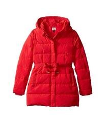 Armani Junior Puffer with Bow (Toddler/Little Kids