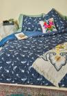 Jump for Koi Duvet Cover in King
