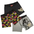 Zelda Boxer Briefs 3-pack with Collectors' Tin - E