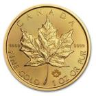 SPECIAL PRICE! 2017 Canada 1 oz Gold Maple Leaf Co