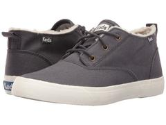 Keds Triumph Mid Brushed Canvas with Faux Shearlin