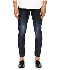 DSQUARED2 Five-Pocket Sexy Twist Jeans in Blue