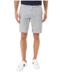 Lacoste Woven Check Pattern Short