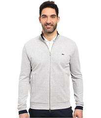 Lacoste Long Sleeve Semi-Fancy Pique Full Zip