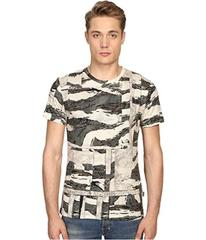 Just Cavalli Slim Fit Camowork Print T-Shirt