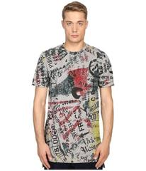 Vivienne Westwood Anglomania Newspaper Rubbish T-S