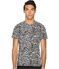Just Cavalli Slim Fit Zebra Vibe Printed T-Shirt