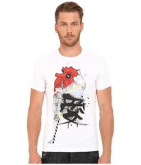 DSQUARED2 Chic Dean Fit Samurai Heart Dan Shirt