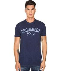 DSQUARED2 Long Cool Fit Japanese Indigo T-Shirt