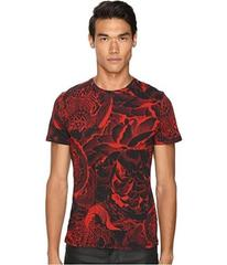 Just Cavalli Slim Fit Rock Romance Printed T-Shirt
