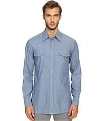 Marc Jacobs Slim Fit Chambray Button Up