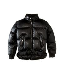 Dsquared2 Leather Puffer Jacket (Big Kids)