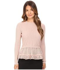 RED VALENTINO Cotton Yarn Lingerie Stiching & Poin