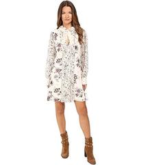 See by Chloe Georgette Floral Tie Dress