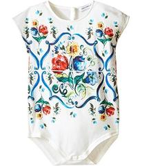 Dolce & Gabbana Escape Maiolica Floral Jersey One-