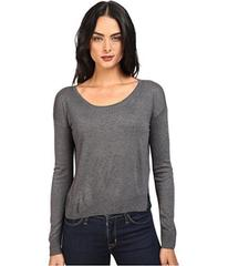 Splendid Crop Sweater Cashmere Blend
