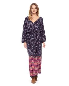 Juicy Couture SILK FABLE FLORAL MAXI DRESS