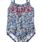Carter's Ruffle Floral Swimsuit