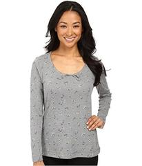 Jockey Cotton Poly Printed Long Sleeve Top