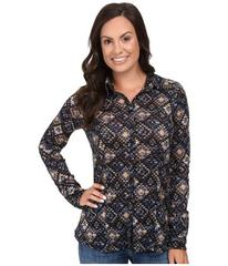 Stetson Aztec Tapestry Print Long Sleeve Woven Wes