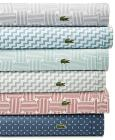 CLOSEOUT! Lacoste Printed 4-pc Sheet Sets, 100% Co
