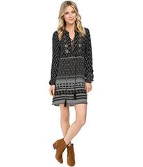 Brigitte Bailey Cai Long Sleeve Dress with Front B