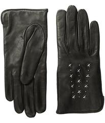 COACH Star Studded Leather Gloves