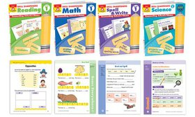 Skill Sharpener Workbooks for Pre-K through Grade