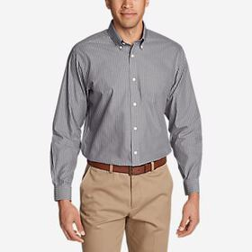 Men's Wrinkle-Free Pinpoint Oxford Relaxed Fit