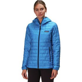 Patagonia Nano Puff Hooded Insulated Jacket - Wome