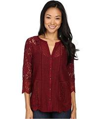 Lucky Brand Lace Mix Top