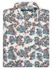Short Sleeve Exclusive Floating Floral Shirt