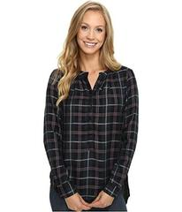 Lucky Brand Girlfriend Plaid Shirt