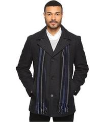 Perry Ellis Wool Button Front with Scarf