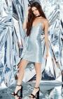 Kendall & Kylie Sequined Strappy Slip Dress