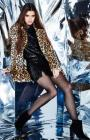 Kendall & Kylie Sequined Mini Skirt