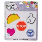 Stop Sign Peel & Stick Patches