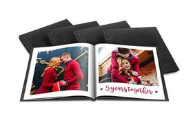 Custom 40-Page Luxury Leather Photo Books from Pri