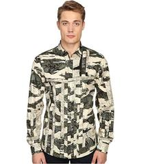 Just Cavalli Slim Fit Camowork Pring Woven Shirt
