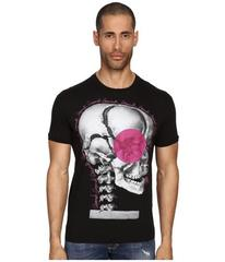 DSQUARED2 Chic Dan Fit Skull Print T-Shirt