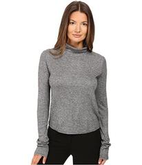 See by Chloe Jersey Turtleneck with Sheer Back