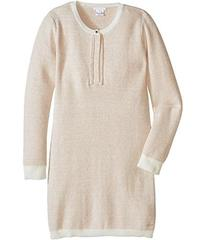 Chloe Lurex and Knitted Dress w/ Braids Details (L