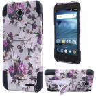 Insten Roses Hard Hybrid Silicone Case w/stand For