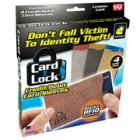 AS SEEN ON TV! Card Lock